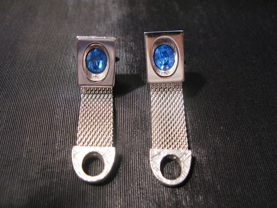 Cufflinks Vintage Wedding Jewelry, Cuff Links For Groom Wedding Blue Vintage
