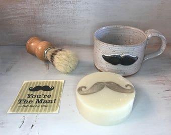 Mr. Mustache Gift Set