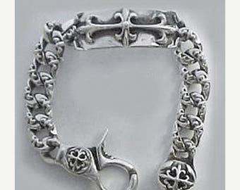 ON SALE Knights in Armor ID Link Bracelet