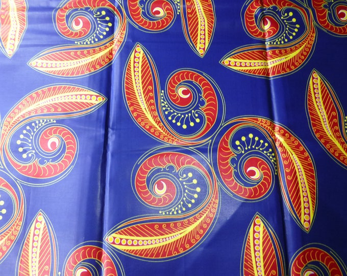 African Fabrics Java Print Cotton Fabrics For Dress &Craft Making Sewing Fabric/Kitenge/Pagnes/Kikwembe/Ankara Sold By Yard
