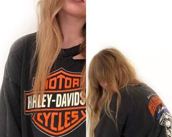 VTG Harley Davidson San Francisco Distressed T-Shirt