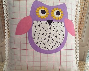 Playful Animals Collection:  Wide-Awake Owl
