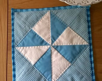 Patchwork Table Mat or Pot Stand
