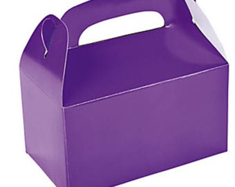 4 boxes United way purple silverwear