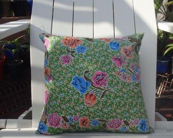 100% cotton batik cushion covers. Home wares. Handmade. 41 cm.