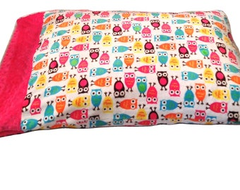 Minky Pillowcase Toddler, Pillow Cover,  Baby Pillow Cover, Travel Pillow, Adult Standard Pillow Case  20 x 26