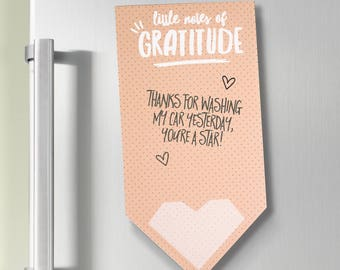 Little Notes Of Gratitude Magnetic Note Pad