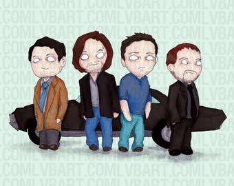 Supernatural Plush 2.0 Fine Art Print