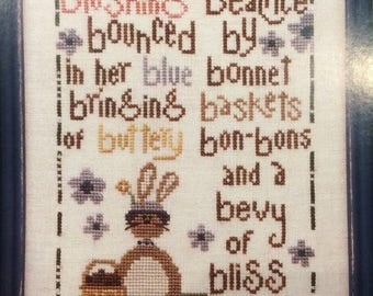 25% OFF SALE Trilogy Beatrice counted cross stitch pattern