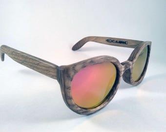 Wood Sunglasses Cat's eyes