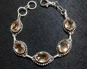 Smoky Quartz Crystal Bracelet, Crystal Bracelet, Gemstone Bracelet, Smoky Quartz Jewelry, Spiritual Healing Jewelry, Smoky Quartz Bracelet