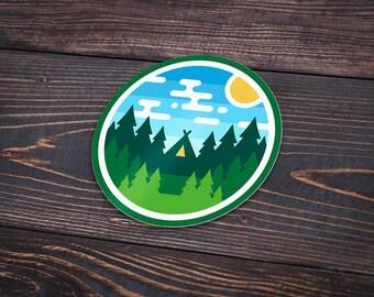 Woods Badge Sticker