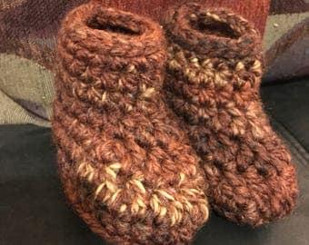 Crochet booties for babies  6-12 months