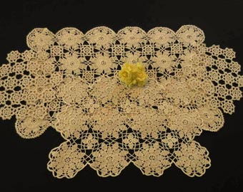 Four Hand Crocheted Doilies