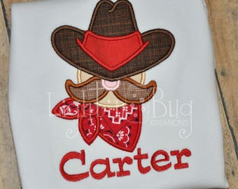 Personalized Western Cowboy Shirt