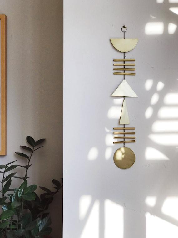 """Geometric Wall Hanging - """"elio"""" - made-to-order - 1 week turnaround time"""
