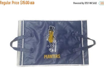 Planters, Planters Peanuts, Mr. Peanut, Stadium seat, vintage Peanut, stadium blanket carrier, Mr. Peanut stadium matt