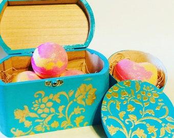 Bath Bomb Gift Sets, Bath Frizzie Set,