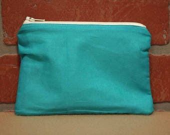 One Snack Sack, Teal, Reusable Lunch Bags, Waste-Free Lunch, Machine Washable, Back to School, School Lunch, item #SS56