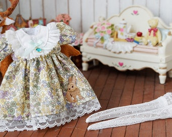 Blythe outfit (dress,shirt) /clothe /handmade /azone /licca /jerryberry