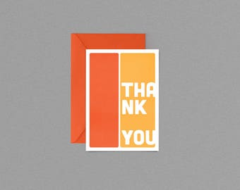 Thank You Card Digital Download