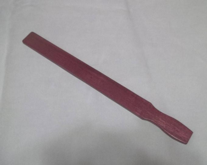 Gorgeous Purple Heart Paint Stick Paddle!