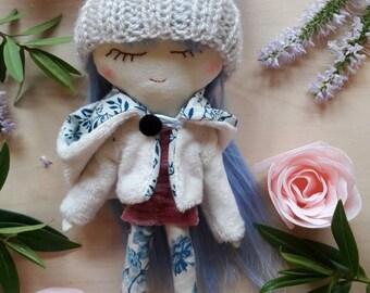 Doll, ragdoll, handmade doll, fabric doll