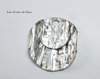 1 x antique silver pendant