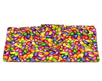 Wallet with Jelly Beans for women