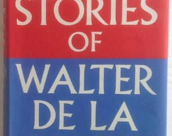 Best stories of Walter de la Mare, 1957 1st Edition 7th Impression, Bold Cover Art
