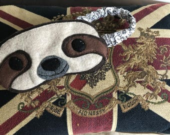 Sloth Eye Mask, Sloth Sleep Mask