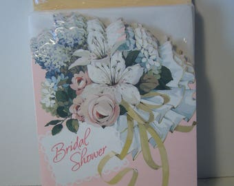 Bridal Shower Invitations - Vintage Hallmark Bridal Shower Invitations - Set of 25 Cards