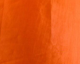ORANGE - Iridescent Non-Stretch Taffeta Fabric by the Yard- Style- 1502