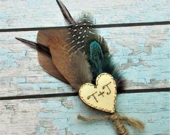 Rustic Boutonniere, Country Chic Wedding Boutonniere,Rustic Burlap Mens Boutonniere,Groom Boutonniere, Groomsmen Boutineer