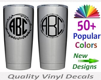 Got Your Tumbler Marked - Top Quality Vinyl Decal coming soon