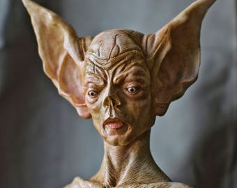 Bat Creature Resin Statue