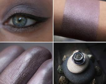 Eyeshadow: Quickening Stones - Mountain Thorp. Gray-brown satin eyeshadow by SIGIL inspired.