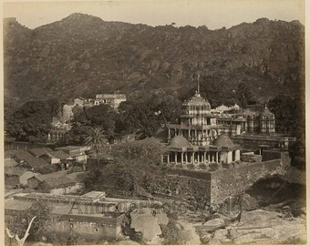 Ceylon Sri Lanka architecture albumen photo