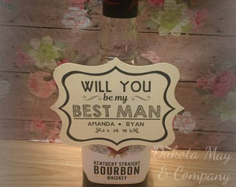 Will You Be My Groomsmen | Will You Be My Best Man | Groomsmen Proposal | Groomsmen Proposal Card |