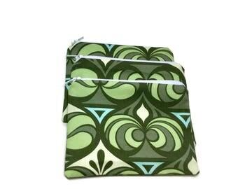 Reusable Sandwich Snack Bags Joel Dewberry Green Set or Singles