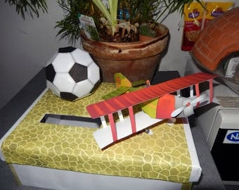 EXAMPLE urns plane and football