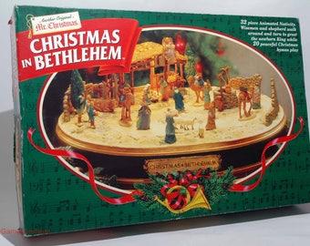 Christmas in Bethlehem from Mr. Christmas 1997