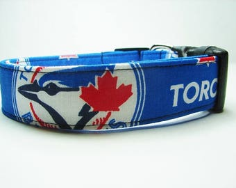 Toronto Blue Jays Baseball Dog Collar