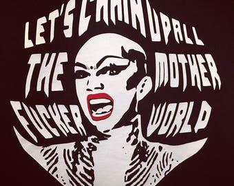 Sasha Velour - t-shirt - Drag Queen - Rupaul Drag Race