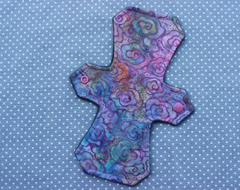 "9"" liner, cotton woven, cloth menstrual pad"