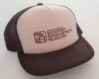 Vintage Saskatchewan Western Development Museums Snapback Hat VTG