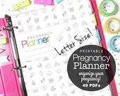 Pregnancy Planner, Pregnancy Journal, Printable Inserts, Mom to Be, Baby Planner, Birth Plan, New Baby