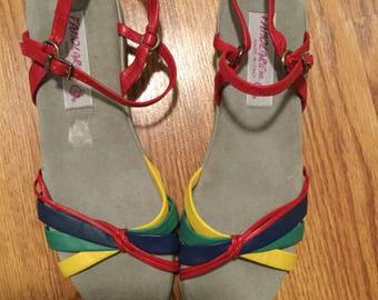 1970s Famolare sandals