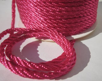 1 meter of cotton yarn braided 3 mm thick (165)