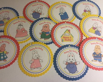 Max and Ruby Tags
